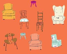 'Chairs'  by @Heather Ross