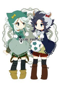 Tags: Anime, Inazuma Eleven, Suzuno Fuusuke, Yukimura Hyouga