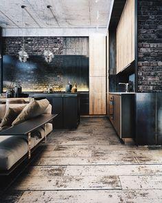 """10.1 ezer kedvelés, 79 hozzászólás – ⠀✪ LOFT INTERIOR DESIGN IDEAS (@loft_interior) Instagram-hozzászólása: """"⠀⠀ ДА ИЛИ НЕТ? ⠀⠀⠀⠀ ⠀ ⠀⠀⠀⠀ ⠀⠀⠀⠀⠀ Loft design by Oleksii Komarov…"""""""