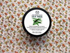 Rosalie & Violetta: TheBodyShop Tea Tree Clay Mask  #beauty #makeup #skincare #blogger #blog #blogpost #beauty #review #teetree #thebodyshop #mask
