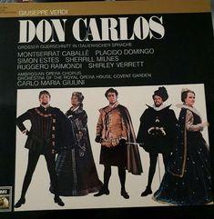 Giuseppe Verdi Don Carlo - Highlights UK vinyl LP album (LP record) Ballet Music, Don Carlos, Vinyl Lp, Orchestra, Opera House, Album, Black And White, 1960s, Pictures