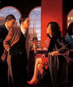Jack Vettriano The Red Room painting is available for sale; this Jack Vettriano The Red Room art Painting is at a discount of off. Jack Vettriano, The Singing Butler, Fabian Perez, Red Rooms, Pulp Art, Pulp Fiction, Painting & Drawing, Pin Up, Blond