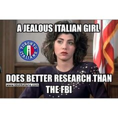 A jealous Italian girl does better research than the FBI
