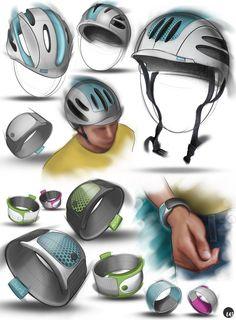 Wonder Vision Design Concept Sketches