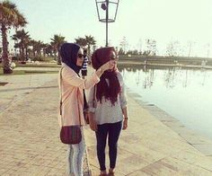 with friend :)