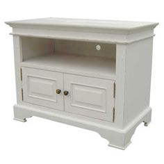 CPW - Kristina 2 Door TV Cabinet This brand new range from CPW features crisp white lines counter-balanced by black arched handles http://www.comparestoreprices.co.uk/living-room-furniture/cpw--kristina-2-door-tv-cabinet.asp
