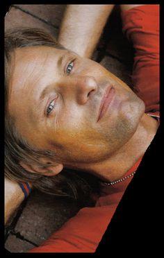 Viggo Mortensen - For a chance to meet him, vote for Viggo Mortensen at… Most Beautiful Man, Gorgeous Men, Pretty People, Beautiful People, Divas, Viggo Mortensen, Actors & Actresses, Hot Actors, Good Looking Men
