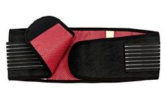 NU Waist Belt - Weight Loss Belt As Workout Equipment Stomach Fat Burner or Belly Fat Belt Burner, Waist Slimmer , Fat Reducer  Waist Support - Fat Burning Belt and Back Support to Relieve Back Pain (XL) *** Click image to review more details.