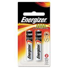 Energizer E96BP-2 AAAA Alkaline Cell Battery