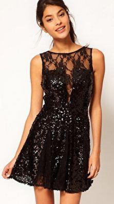 NYE dress // so fabulous. #newyears #lbd #sparkle