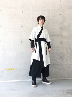 Hizaq: an apprentice scholar Japanese Outfits, Korean Outfits, Chinese Clothing For Men, Modern Hanbok, Elf Clothes, Armor Clothing, Japan Fashion, India Fashion, Traditional Outfits