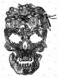 Lace skull- I'm not really a skull person but I LOVE this as a tattoo!