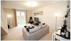 Barratt Homes, Sofa, Couch, Decoration, Furniture, Home Decor, Decor, Settee, Settee