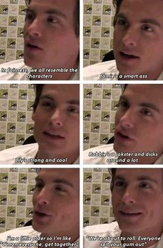 Kevin Zegers about the cast of TMI