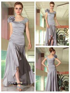 Cap Sleeves Scoop Neckline Ruched Bodice High Low Formal Dresses http://www.ckdress.com/cap-sleeves-scoop-neckline-ruched-bodice-high-low-formal-dresses-p-1878.html  #wedding #dresses #dress #Luckyweddinggown #Luckywedding #wed #clothing #gown #weddingdresses #dressesonline #dressonline #bridaldresses