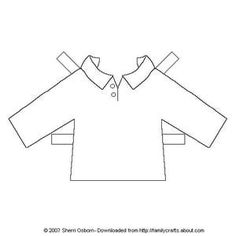 Paper Doll Shirts: Polo-Style Long Sleeve Shirt