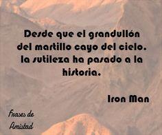 Frases de iron man de Iron Man