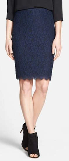 lace pencil skirt  http://rstyle.me/n/m633npdpe