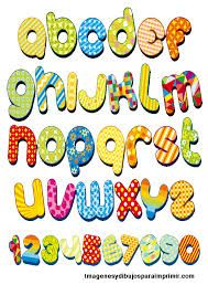 abecedario y numeros para imprimir - Buscar con Google