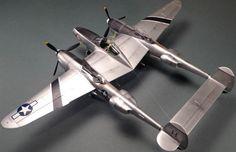 Eduard's P-38J Lightning 1:48 scale