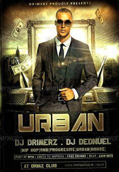 The Urban Flyer Template - http://www.ffflyer.com/the-urban-flyer-template/ The Urban Flyer Template  #Beach, #Birthday, #Club, #Dance, #Dj, #Electro, #HipHop, #Lounge, #Luxury, #Party, #Rap, #Urban