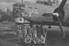 B-17 G Flying Fortress 'Wee Willie' of the 322nd BS, 91st BG, 8th AF. The B17 was damaged first by a hunter before a direct flak hit logs the left side of the fuselage. The aircraft was in mission to Stendal, Germany, April 8, 1945. It will be one of the last 2 B17 lost by 91st's combat during 39-45.