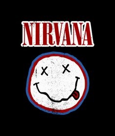 Nirvana Smiley Colours T Shirt Vintage Prints, Vintage Posters, Rock Band Posters, Band Wallpapers, Music Drawings, Music Wall, Retro Aesthetic, Art Background, Wall Collage