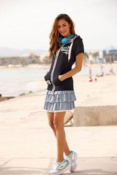 Kangaroos Minirock im Online Shop von Ackermann Versand #Mode #Fashion Casual Jeans, Shopping, Style, Fashion, Fashion Styles, Mini Skirts, Women's, Swag, Moda