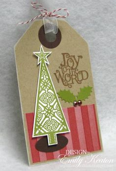Joy to the World Tag by ejkeaton - Cards and Paper Crafts at Splitcoaststampers