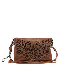 Amused by Ameko Eden Leather Structured Handbag