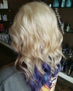 """51 Likes, 6 Comments - Hannah Hansen (@hairbyhannahpeterson) on Instagram: """"I used @redken flashlift lightener for the blonde and @joico intensity colors. I added @matrix to…"""""""