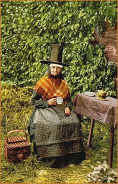 Welsh Tea, early 1900's