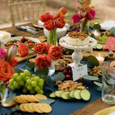Grazing Table Gallery – Table & Thyme Baked Brie, Baked Apples, Mini Crab Cakes, Mimosa Bar Sign, Party Food Platters, Famous Chocolate, Grazing Tables, Food Displays, Brunch Party