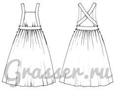 Dress, pattern №457 buy on-line