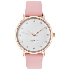 WRISTOLOGY Olivia Womens Chunky Rose Gold Boyfriend Watch Pink Leather Strap -- You can find more details by visiting the image link. (This is an affiliate link) Boyfriend Watch, Gifts For Your Boyfriend, Rolex Day Date, Crystal Rose, Clutch, Pink Leather, Patent Leather, Gifts For Girls, Gold Watch
