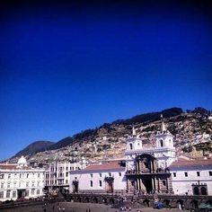 Beautiful #Quito capital of Ecuador with its #historic buildings. Great pic @quitoturismo #allyouneedisecuador