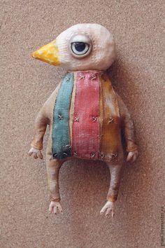 Игрушки животные, ручной работы. Ярмарка Мастеров - ручная работа Птица Клюв. Handmade.