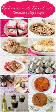 A selection of recipes that have romance (and chocolate! Valentines Recipes, Valentines Food, Smoothies, Cheesecake, Muffin, Alice, Crafty, Chocolate, Baking
