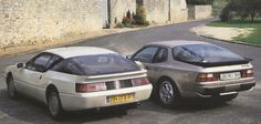 Alpine V6 Turbo vs Porsche 944 Turbo
