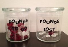 Creative way to visualize weight loss!