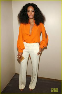 Beyonce and Solange Knowles at the Chime for Change One-Year Anniversary event in New York
