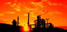 Petrochemical Sunset