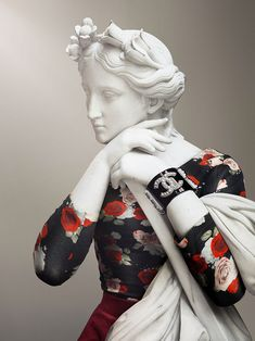 LEO CAILLARD * French * http://www.leocaillard.com ** Hipster in stone - Musee du Louvre  ~ Muse