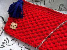 FIAhandmade / Redbag crossbody taška Chanel Boy Bag, Crocheting, Shoulder Bag, Boys, Fashion, Crochet Hooks, Ganchillo, Moda, La Mode