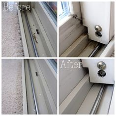 The easiest way to clean window tracks with vinegar - Ask Anna