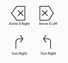 Creative arrow icons from Icons Mind