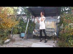 Dancing-Butts: Elena - Oxford-Pumps (High-Heel)/Kleid/PVC-Stulpen - DB #004