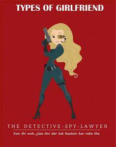 The Detective Types of #girlfriend  #GFRIEND #gftweet #factsnotfear #fact