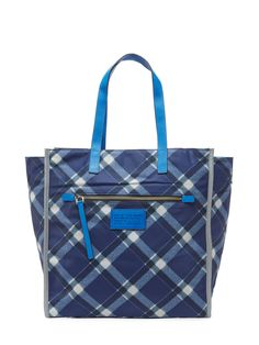 cool Plaid TT Tote
