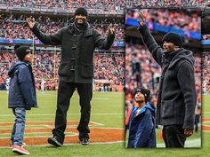 The #Broncos honored Champ Bailey -- one of their best ever -- during the second quarter Sunday at Sports Authority Field at Mile High. nov 23 2014